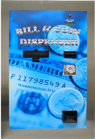 AMERICAN CHANGER REAR LOAD-DUAL NOTE BILL & COIN DISPENSER