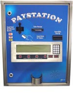 AMERICAN CHANGER AUTOMATIC CARWASH PAYSTATION HIGH SECURITY STAINLESS STEEL CREDIT CARD/CASH/TOKEN