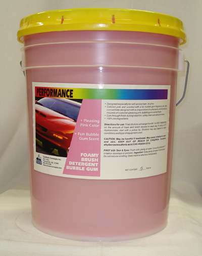 Performance Foam Bush Detergent Bubble Gum
