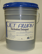 Jet-Away Frictionless Detergent