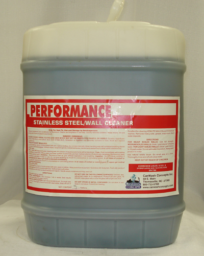 Performance Stainless Steel Wall Cleaner