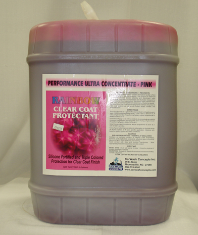 Rainbow Clear Coat Protectant Ultra Concentrate - Pink